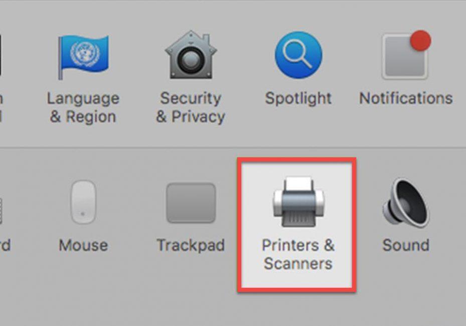 Подключение принтера к компьютеру