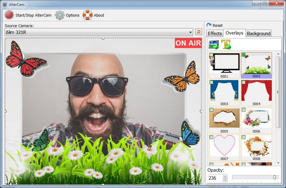 AlterCam v5.3 - Live Webcam Effects