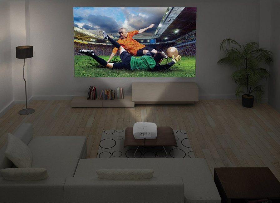 лучший проектор для домашнего кинотеатра