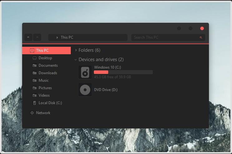 ТОП лучших тем для Windows 10