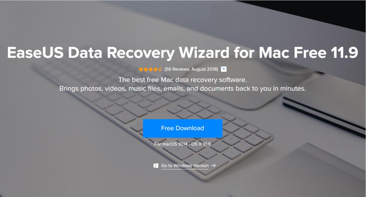 EaseUS Data Recovery Wizard - рабочий инструмент для восстановления данных (Mac)