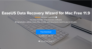 EaseUS Data Recovery Wizard  —  рабочий инструмент для восстановления данных (Mac)