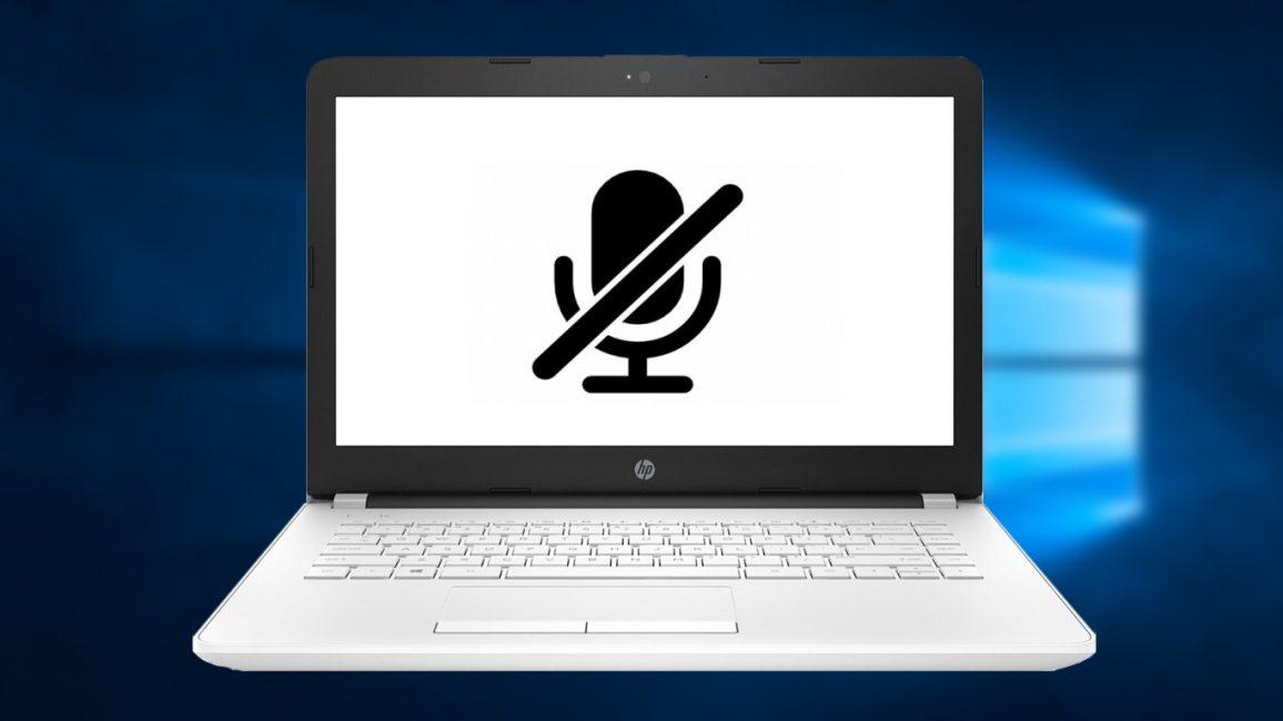 Не работает микрофон на компьютере под Windows