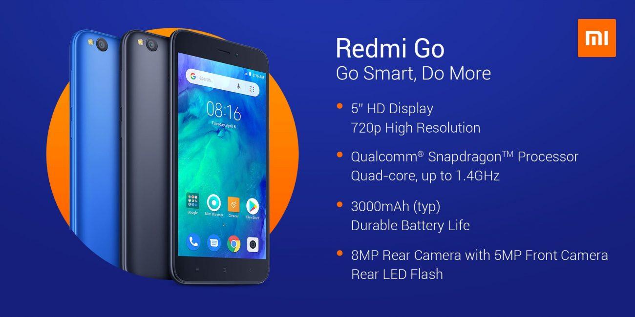 Краткие характеристики Xiaomi Redmi Go