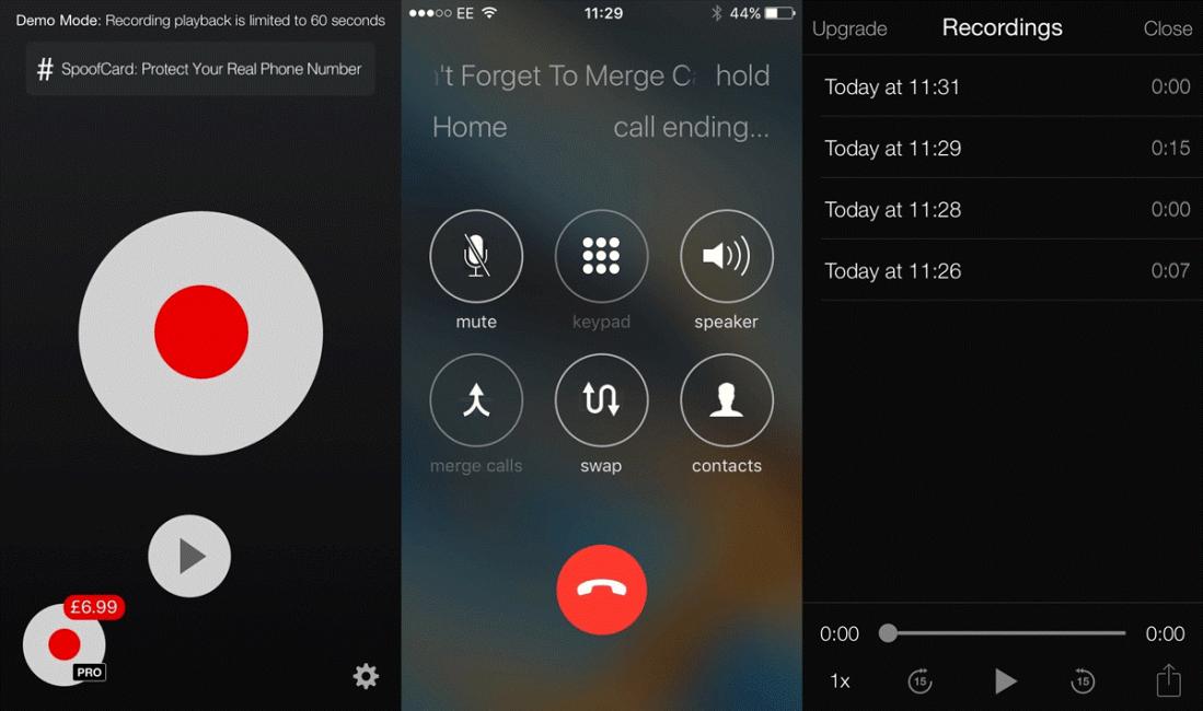 TapeACall – это простое приложение для платформы iOS, позволяющее осуществить запись любого разговора.