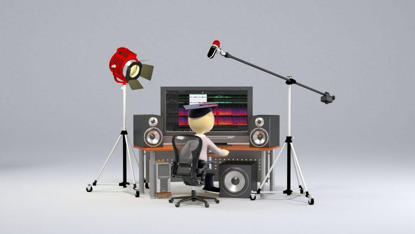 наложить музыку на видео онлайн
