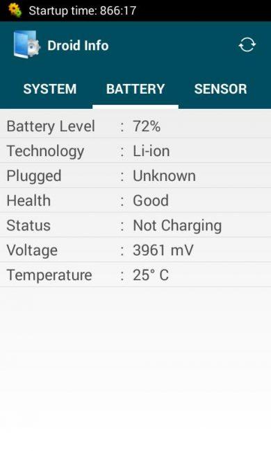 Показатель температуры в CPU Z