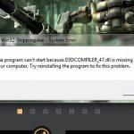 d3dcompiler 47 dll скачать windows +исправить ошибку