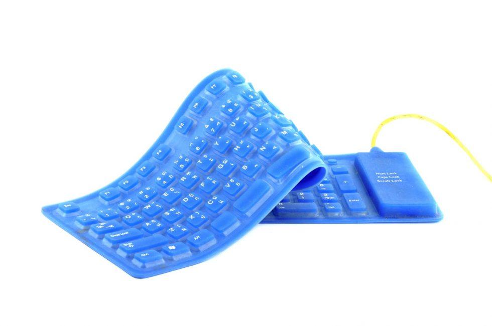 Гнущаяся клавиатура