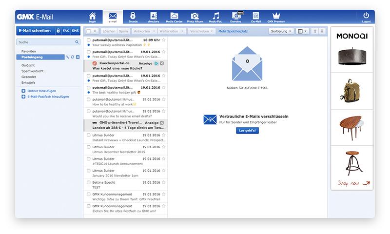 Бесплатная электронная почта