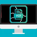 Как открыть VCF файл контактов на компьютере