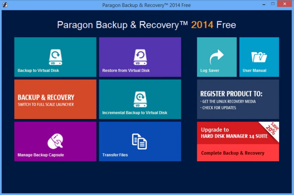 Paragon Backup&Recovery