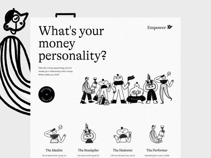 https://dribbble.com/shots/11533564-Empower-s-Financial-Quiz