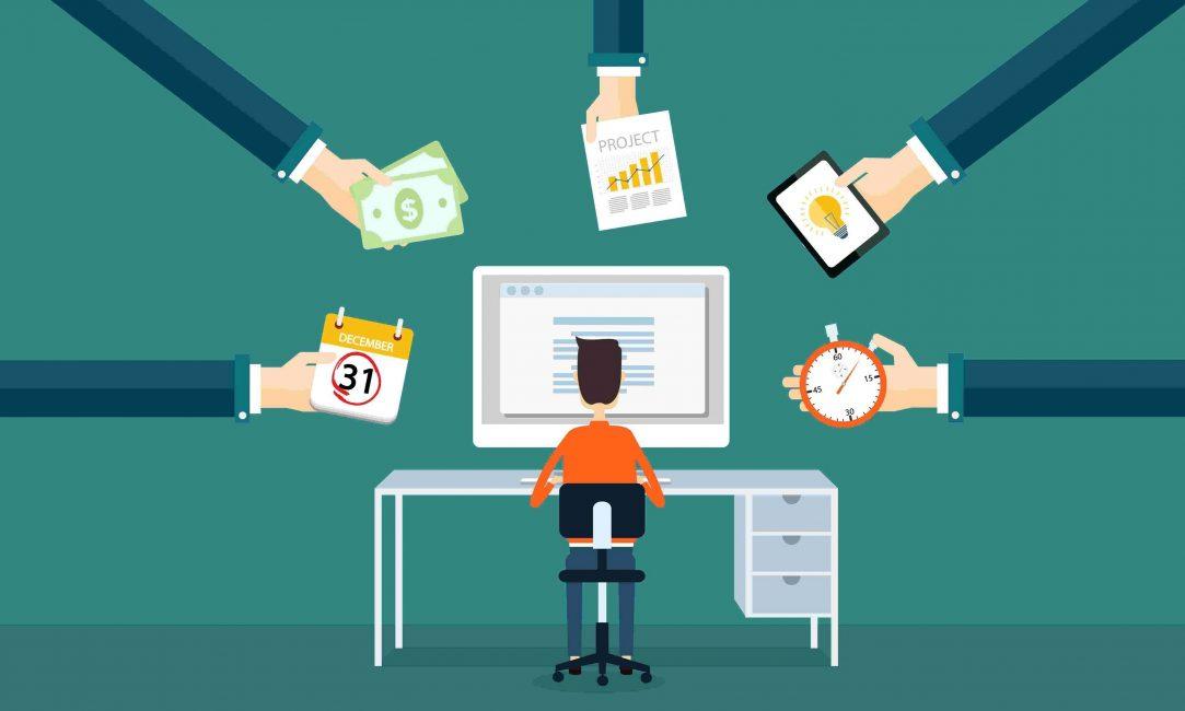 Фрилансер может сотрудничать как с одним-единственным, так и с несколькими заказчиками одновременно, выполнять параллельно несколько проектов, в том числе и в разных сферах. Чаще всего он работает соло над оговоренным объемом работ.