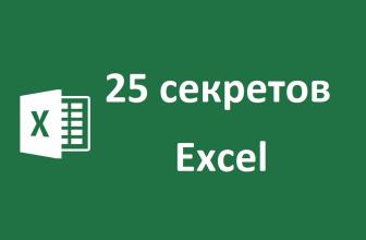 ТОП-25 секретов и возможностей Excel: Самые полезные лайфхаки для работы