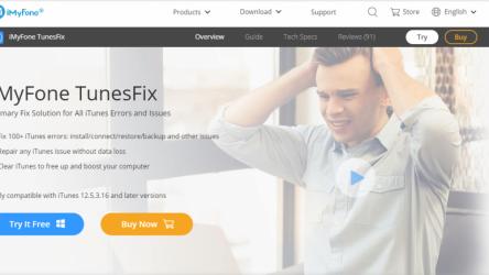 iMyFone TunesFix: решение всевозможных ошибок и проблем при работе с iTunes без потери данных!