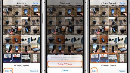 Как удалить все фото с Айфона (iPhone): где и как посмотреть недавно удаленные, можно ли их восстановить?