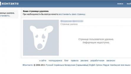 Как удалить страницу в Вконтакте: Все способы 2019 года